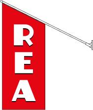 Stor REA flagga