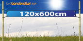 Banderoll Standard 120x600cm