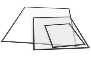 Magnetplast 50 x 70 cm 2-pack