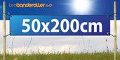 Banderoll Standard 50X200cm