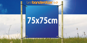 Banderoll Standard 75x75cm