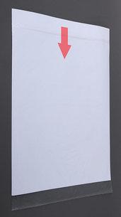 Vattentålig Plastficka för affisch, 70x100 cm