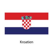 Kroatien Flagga