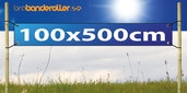 Banderoll Standard 100x500cm