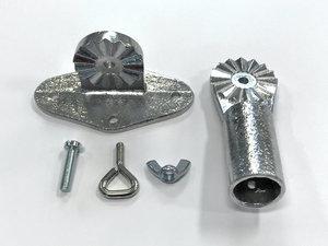 Väggfäste ställbart i metall
