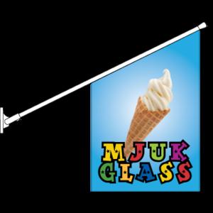 Mjukglass Flagga