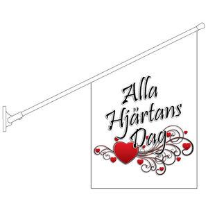 Alla Hjärtans Dag Flagga