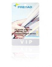 Plastkort Vit Stl: 86x54x0,8mm