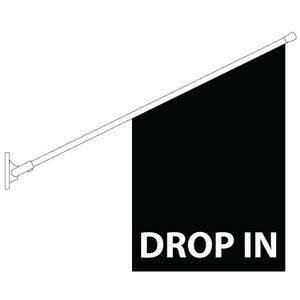 Drop in flagga