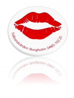 Magnet 30 mm Vit Baksida 20 mm