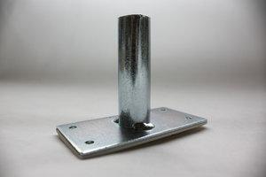 Väggfäste 90° i metall med tejp 19mm