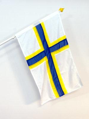 Natsionsset Sverigefinska flaggan