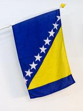 Bosnien Flagga