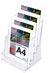 Akrylställ, 4xA4