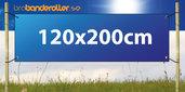 Dubbelsidig Banderoll Extra kraftig 120x200cm