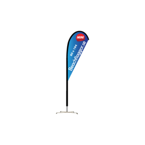 Beachflagga Droppen Mini endast flagga