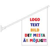 Fasadflagga 40x60cm med egen design
