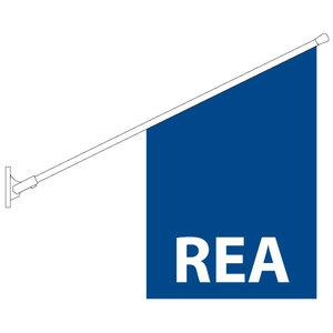 REA Butiksflagga