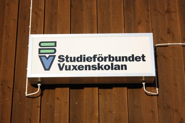 Ljuslåda Studieförbundet Vuxenskolan i Bjurholm