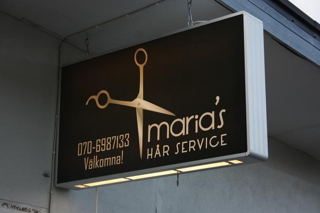 Ljuslåda Maria's Hårservice